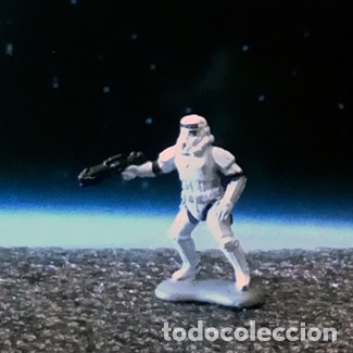SOLDADO IMPERIAL STORMTROOPER 1 DE 4 / STAR WARS / MICRO MACHINES MICROMACHINES / MINIATURA (Juguetes - Figuras de Acción - Star Wars)