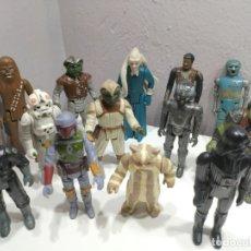 Figuras y Muñecos Star Wars: BUEN LOTE DE FIGURAS STAR WARS AÑOS 70-80. NO MOTU NO MADELMAN NO GEYPERMAN. Lote 177783188