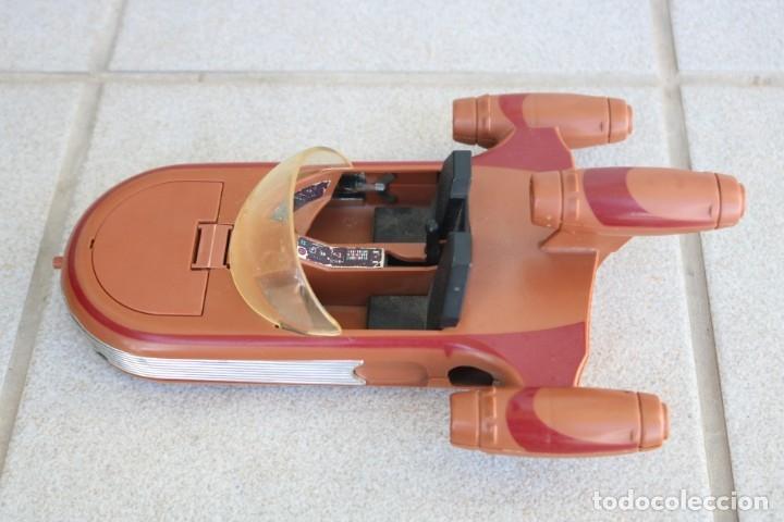 STAR WARS KENNER LUKE SKYWALKER FARMBOY LANDSPEEDER 1978 TATOOINE VEHÍCULO COMPLETO MUY BUEN ESTADO (Juguetes - Figuras de Acción - Star Wars)