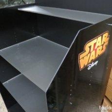 Figuras y Muñecos Star Wars: STAR WARS DISNEY - MUEBLE MOSTRADOR ESTANTERIA DE JUGUETERIA EXPOSITOR. Lote 178032249