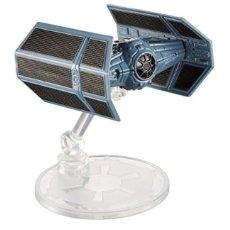 Figuras y Muñecos Star Wars: LOTE MAQUETA DEL ESPACIO - NAVE NUEVA STAR WARS DE HOT WHEELS - TIE ADVANCED X1 DARTH VADERS. Lote 178210692