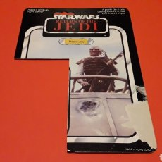 Figuras y Muñecos Star Wars: CARD WEEQUAY STAR WARS RETURN OF THE JEDI, HONG KONG, ORIGINAL FROM THE 80´S.. Lote 178387231