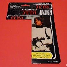 Figuras y Muñecos Star Wars: CARD LUKE IMPERIAL STORMTROOPER STAR WARS TRILOGO RETORNO DEL JEDI HONG KONG, ORIGINAL FROM THE 80´S. Lote 178387902