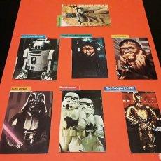 Figuras y Muñecos Star Wars: CARDS CARTONES RECORTADOS STAR WARS, RETORNO DEL JEDI, HONG KONG, ORIGINALES AÑOS 80.. Lote 178388286
