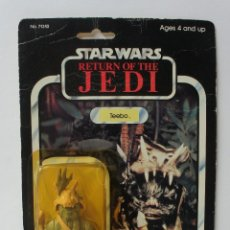 Figuras y Muñecos Star Wars: STAR WARS RETURN OF THE JEDI - (EL RETORNO DEL JEDI) FIGURA TEEBO EN BLISTER SIN ABRIR .. Lote 178723311