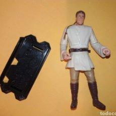 Figuras y Muñecos Star Wars: FIGURA STAR WARS OBI-WAN KENOBI AÑO 1999 LFL HASBRO REEDICIÓN DELUXE MOVIE HEROES SERIES 2012 RAREZA. Lote 179043841
