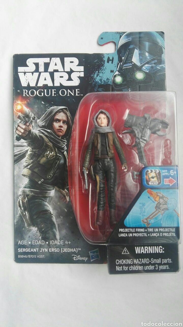 STAR WARS ROGUE ONE SERGEANT JYN ERSO (Juguetes - Figuras de Acción - Star Wars)