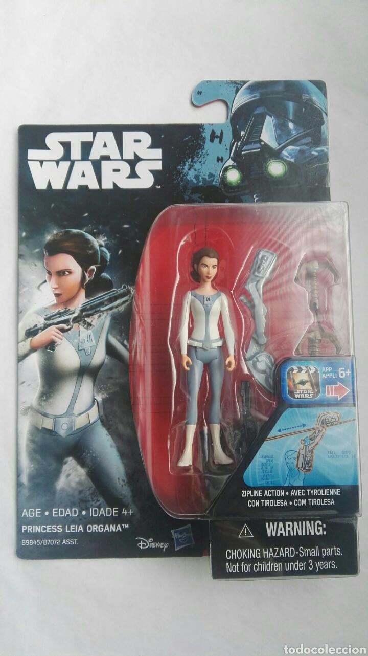 STAR WARS PRINCESS LEIA ORGANA CON TIROLESA (Juguetes - Figuras de Acción - Star Wars)