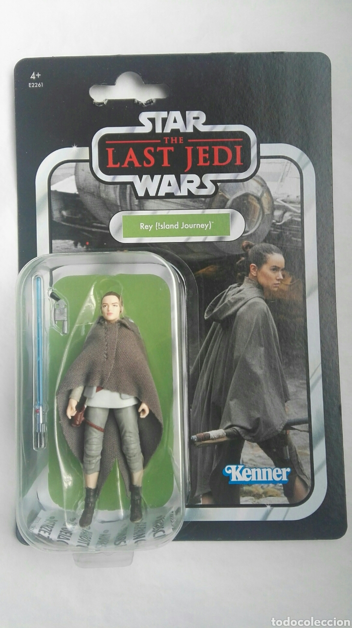 STAR WARS THE LAST JEDI REY ISLAND JOURNEY KENNER (Juguetes - Figuras de Acción - Star Wars)
