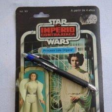 Figuras y Muñecos Star Wars: FIGURA STAR WARS EN BLISTER - EL IMPERIO CONTRAATACA - LEIA ORGANA -POCH - PBP - ESB 31 BACK. Lote 203950340