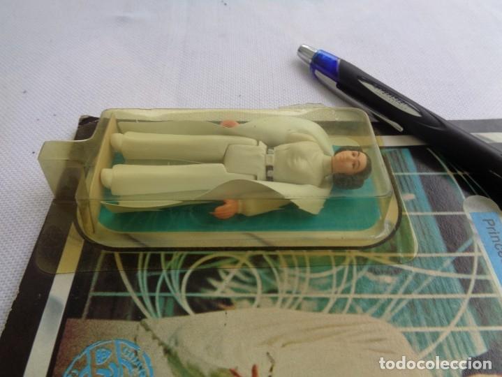 Figuras y Muñecos Star Wars: Figura Star Wars en blister - El imperio contraataca - Leia Organa -Poch - PBP - ESB 31 back - Foto 8 - 203950340