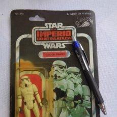 Figuras y Muñecos Star Wars: FIGURA STAR WARS EN BLISTER -EL IMPERIO CONTRAATACA -TROPA DE ASALTO - POCH - PBP -ESPAÑOLA ORIGINAL. Lote 179132000