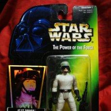 Figuras y Muñecos Star Wars: FIGURA STAR WARS- AT-ST DRIVER, KENNER 1996. PRECINTADO!!!.. Lote 179142948