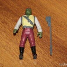 Figuras y Muñecos Star Wars: FIGURA ACCIÓN VINTAGE BARADA COMPLETA STAR WARS KENNER LFL 1985 LAST 17 ARMA ORIGINAL . Lote 179204946