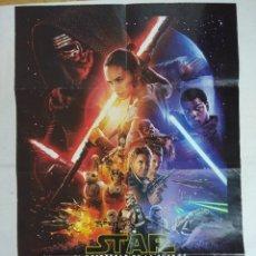 Figuras y Muñecos Star Wars: CARTEL DE CINE/POSTER STAR WARS/EL DESPERTAR DE LA FUERZA.. Lote 179320961