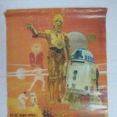 Figuras y Muñecos Star Wars: POSTER STAR WARS/R2-02 (ARTOO-DETOO)/C-3PO (SEE-THREEPIO)COCA COLA Nº2.. Lote 179321746