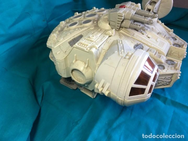 Figuras y Muñecos Star Wars: NAVE HALCON MILENARIO PLAYSKOOL DISTRIBUIDO POR HASBRO 2001 - Foto 3 - 179325938