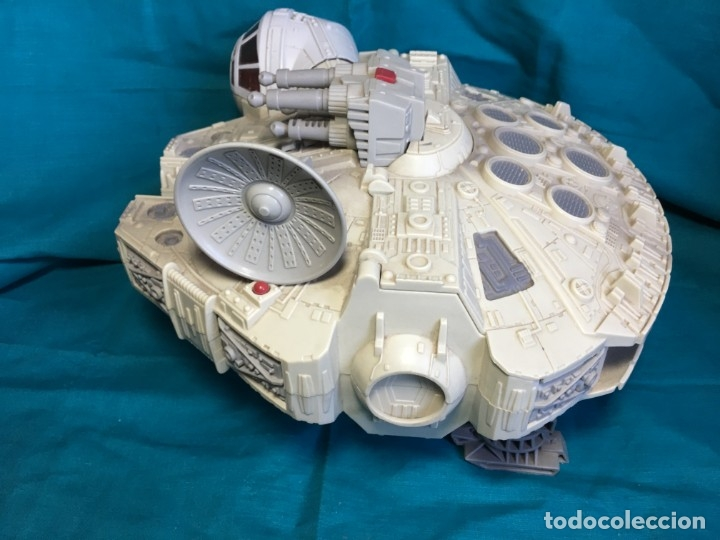 Figuras y Muñecos Star Wars: NAVE HALCON MILENARIO PLAYSKOOL DISTRIBUIDO POR HASBRO 2001 - Foto 4 - 179325938