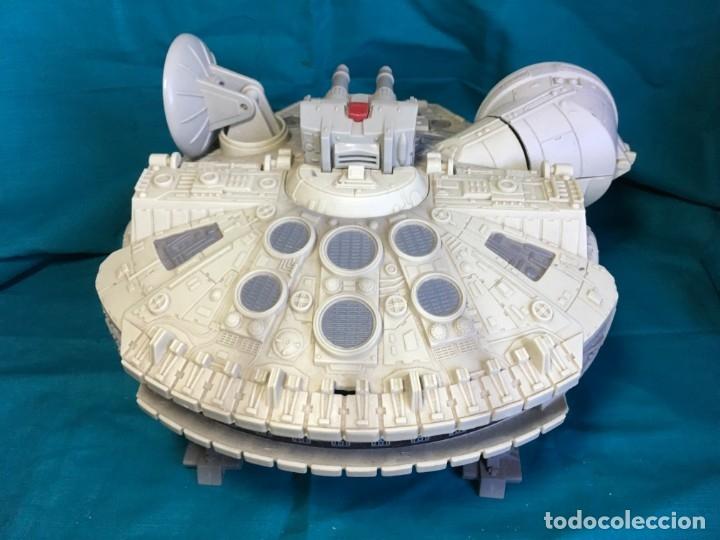 Figuras y Muñecos Star Wars: NAVE HALCON MILENARIO PLAYSKOOL DISTRIBUIDO POR HASBRO 2001 - Foto 5 - 179325938