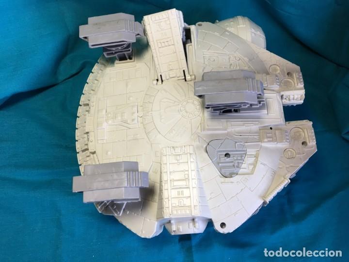 Figuras y Muñecos Star Wars: NAVE HALCON MILENARIO PLAYSKOOL DISTRIBUIDO POR HASBRO 2001 - Foto 9 - 179325938