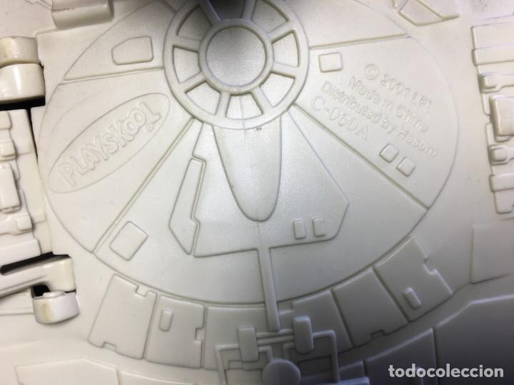 Figuras y Muñecos Star Wars: NAVE HALCON MILENARIO PLAYSKOOL DISTRIBUIDO POR HASBRO 2001 - Foto 10 - 179325938