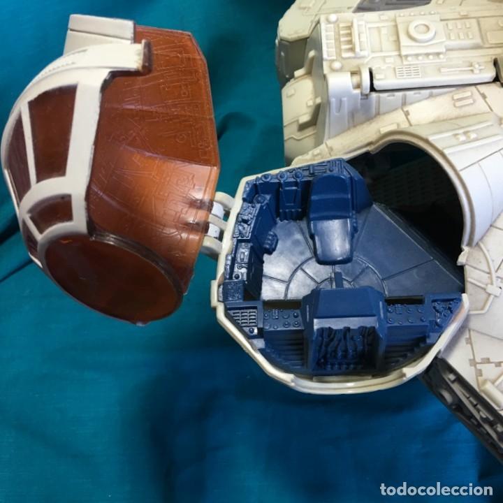 Figuras y Muñecos Star Wars: NAVE HALCON MILENARIO PLAYSKOOL DISTRIBUIDO POR HASBRO 2001 - Foto 11 - 179325938