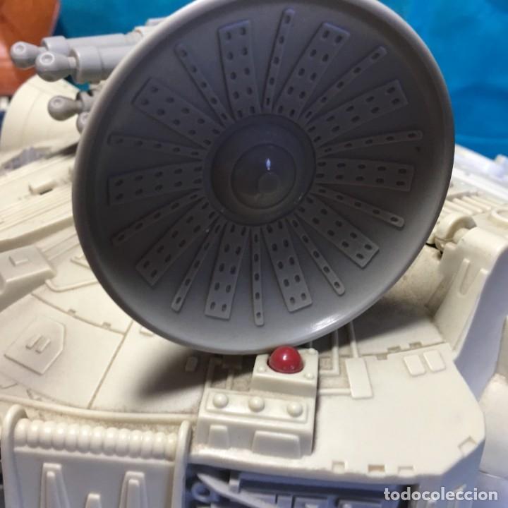 Figuras y Muñecos Star Wars: NAVE HALCON MILENARIO PLAYSKOOL DISTRIBUIDO POR HASBRO 2001 - Foto 12 - 179325938