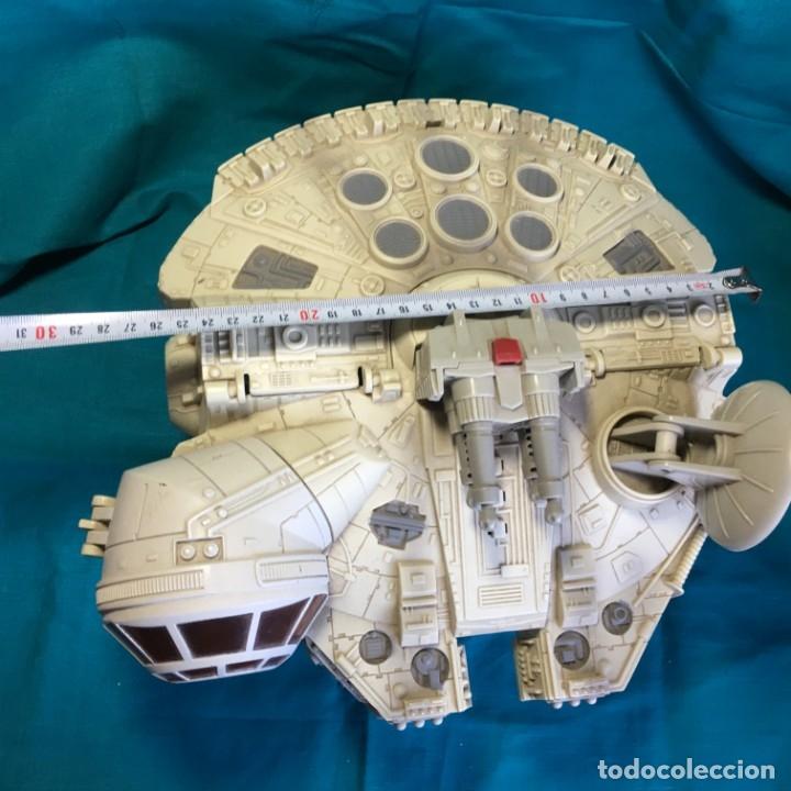 Figuras y Muñecos Star Wars: NAVE HALCON MILENARIO PLAYSKOOL DISTRIBUIDO POR HASBRO 2001 - Foto 15 - 179325938