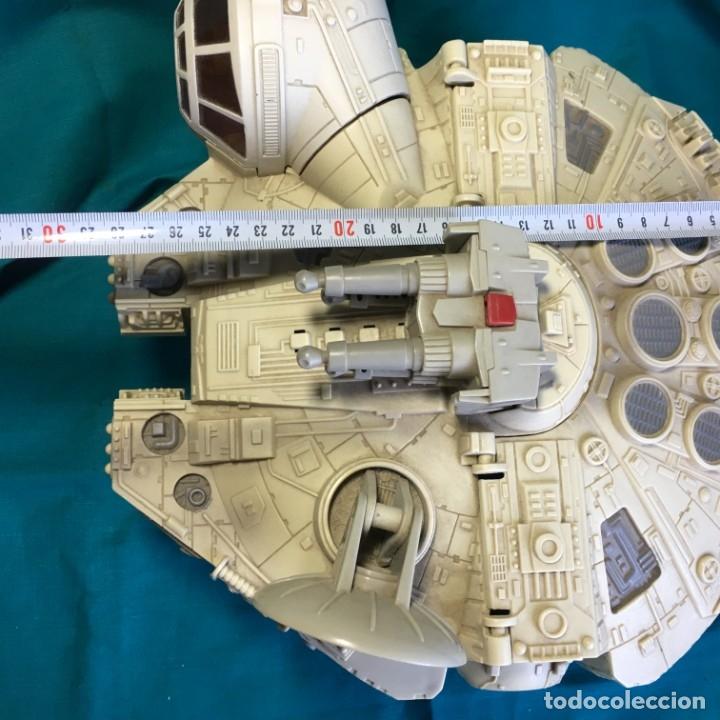 Figuras y Muñecos Star Wars: NAVE HALCON MILENARIO PLAYSKOOL DISTRIBUIDO POR HASBRO 2001 - Foto 16 - 179325938