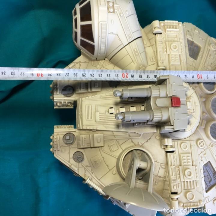 Figuras y Muñecos Star Wars: NAVE HALCON MILENARIO PLAYSKOOL DISTRIBUIDO POR HASBRO 2001 - Foto 17 - 179325938