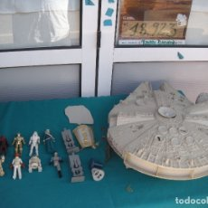 Figuras y Muñecos Star Wars: GUERRA DE LAS GALAXIAS NAVE Y MUÑECOS. Lote 180034840