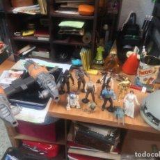 Figuras y Muñecos Star Wars: LOTE STAR WARS 9 FIGURAS KENNER 1 PARTE NAVE LEWIS GALOOB Y 1 NAVE HASBRO . Lote 180082831
