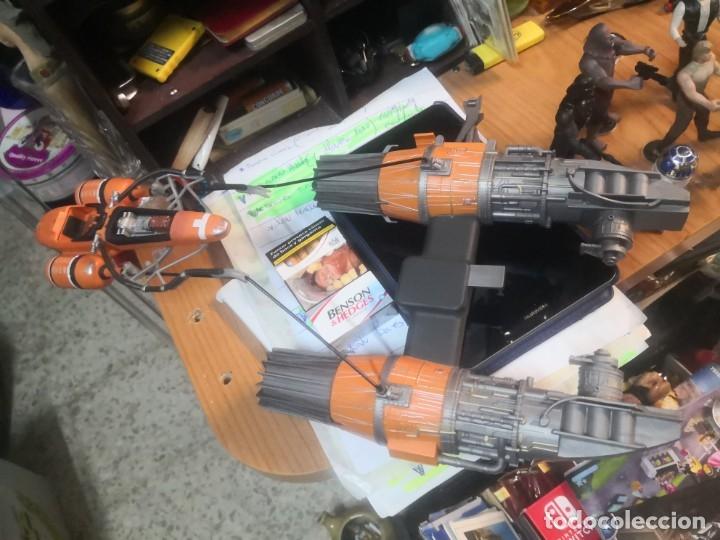 Figuras y Muñecos Star Wars: Lote star wars 9 FIGURAS KENNER 1 PARTE NAVE LEWIS GALOOB Y 1 NAVE HASBRO - Foto 8 - 180082831