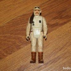 Figuras y Muñecos Star Wars: FIGURA ACCIÓN STAR WARS KENNER REBEL COMMANDER HOTH 1980 HONG KONG LUCASFILM VINTAGE LFL. Lote 180126886