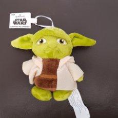 Figuras y Muñecos Star Wars: YODA STAR WARS PELUCHE MINI IDEAL PARA COLGAR COCHE. Lote 180182233