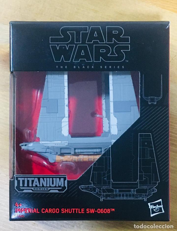 STAR WARS - IMPERIAL CARGO SHUTTLE TITANIUM (Juguetes - Figuras de Acción - Star Wars)