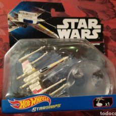 Figuras y Muñecos Star Wars: NAVE X WING FIGHTER HOT WHEELS STAR WARS. Lote 180280785