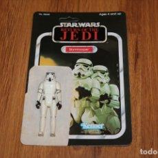 Figuras y Muñecos Star Wars: FIGURA STORMTROOPER IMPERIAL LFL 1977 GMFGI STAR WARS KENNER VINTAGE CARTÓN ORIGINAL. Lote 180428950