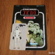 Figuras y Muñecos Star Wars: FIGURA STORMTROOPER IMPERIAL COMPLETO ORIGINAL LFL 1977 GMFGI STAR WARS KENNER VINTAGE CARTÓN . Lote 180429232
