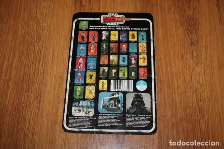 Figuras y Muñecos Star Wars: Figura Yoda completo original LFL 1980 Hong Kong Star Wars Kenner vintage cartón - Foto 4 - 180429362