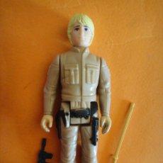 Figuras y Muñecos Star Wars: FIGURA STAR WARS LUKE SKYWALKER BESPIN OUFFIT BLONDE 100% COMPLETA 1980 KENNER VINTAGE .. Lote 180445637