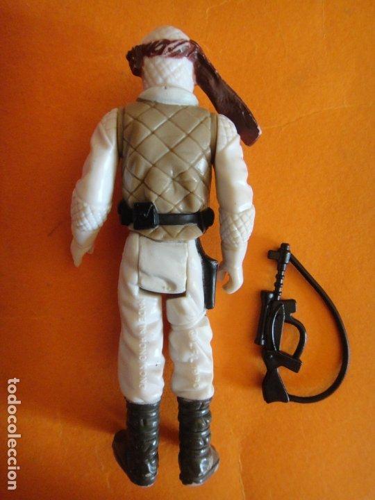 Figuras y Muñecos Star Wars: FIGURA STAR WARS LUKE SKYWALKER HOTH 100% COMPLETA 1980 KENNER VINTAGE . - Foto 3 - 180446282