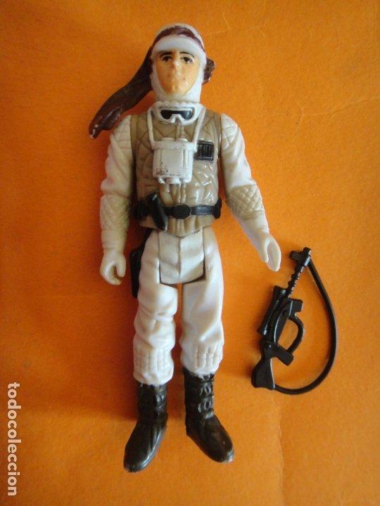 FIGURA STAR WARS LUKE SKYWALKER HOTH 100% COMPLETA 1980 KENNER VINTAGE . (Juguetes - Figuras de Acción - Star Wars)