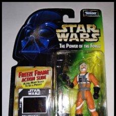 Figuras y Muñecos Star Wars: STAR WARS # BIGGS DARKLIGHTER # THE POWER OF THE FORCE - NUEVO EN SU BLISTER ORIGINAL DE KENNER.. Lote 181212682