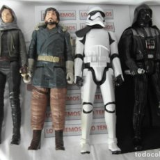 Figuras y Muñecos Star Wars: LOTE DE 4 FIGURAS DE STAR WARS,DART VADER,JYN ERSON,CAPITAN CASSIAN ,STORMTROOPER SEGEANT. Lote 181340755