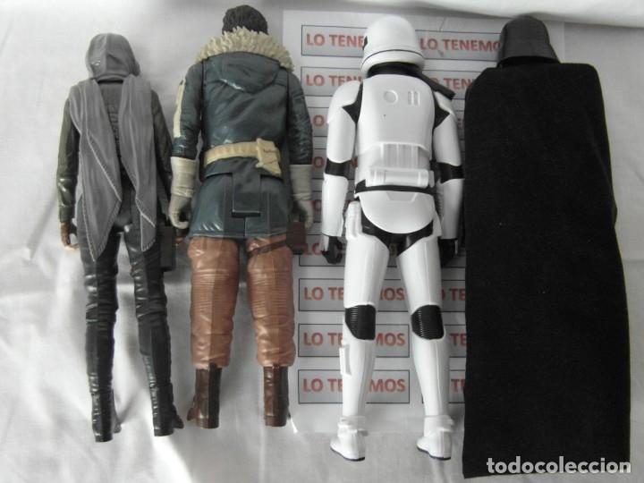 Figuras y Muñecos Star Wars: Lote de 4 figuras de star wars,Dart Vader,Jyn Erson,Capitan Cassian ,Stormtrooper segeant - Foto 2 - 181340755