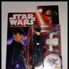 Figuras y Muñecos Star Wars: STAR WARS # GENERAL HUX # THE FORCE AWAKENS - NUEVO EN SU BLISTER ORIGINAL DE HASBRO.. Lote 177013397