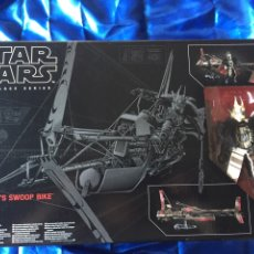 Figuras y Muñecos Star Wars: ENFYS NESTS SWOOP BIKE STAR WARS BLACK SERIES COMO NUEVO. Lote 181538096