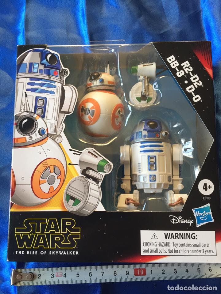 STAR WARS THE RISE OF SKYWALKER R2-D2/BB-8/D-0 (Juguetes - Figuras de Acción - Star Wars)