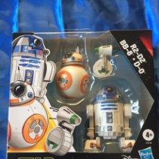 Figuras y Muñecos Star Wars: STAR WARS THE RISE OF SKYWALKER R2-D2/BB-8/D-0. Lote 181539978